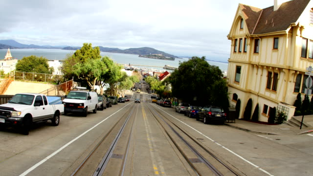 san francisco, ca driving footage - san francisco california stock videos and b-roll footage