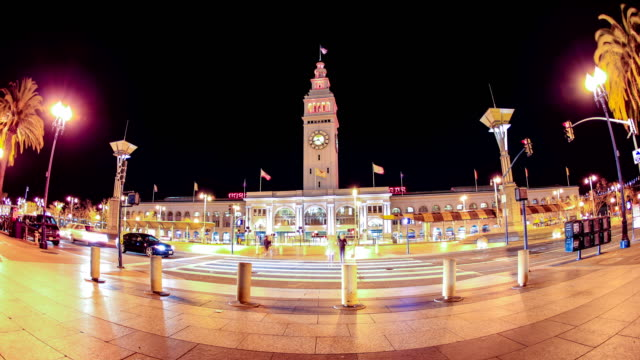 san francisco, ca: ferry building - san francisco ferry building stock videos & royalty-free footage
