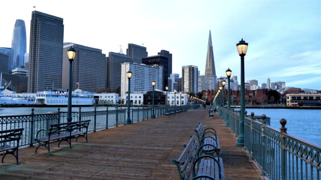 san francisco, ca - pier stock videos & royalty-free footage