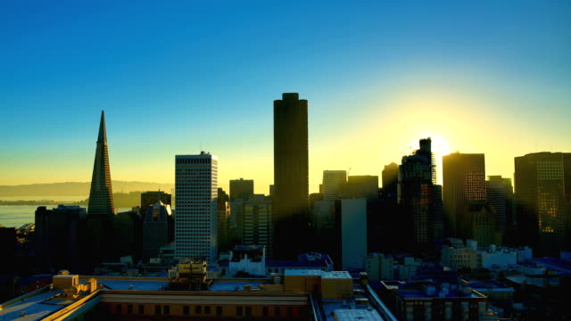 san francisco, ca - sonnenaufgang stock-videos und b-roll-filmmaterial