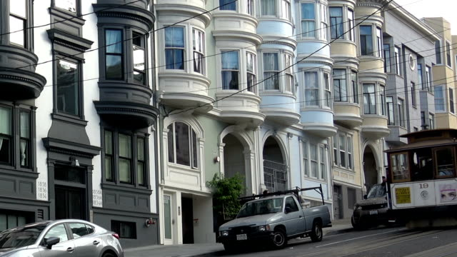 stockvideo's en b-roll-footage met san francisco-kabelbaan - san francisco california