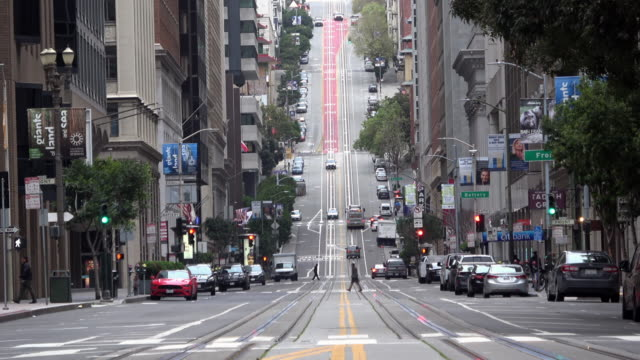 san francisco california street - covid stock videos & royalty-free footage