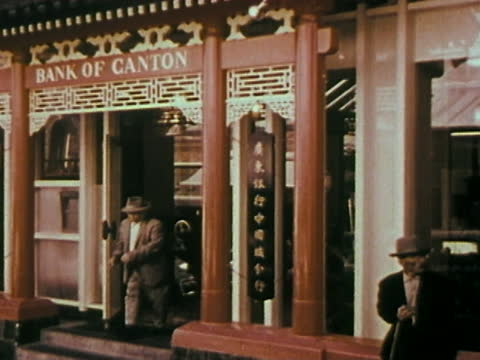 1963 san francisco - chinatown - chinatown stock videos & royalty-free footage