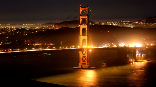 san francisco city concepts: golden gate bridge - golden gate bridge stock videos and b-roll footage