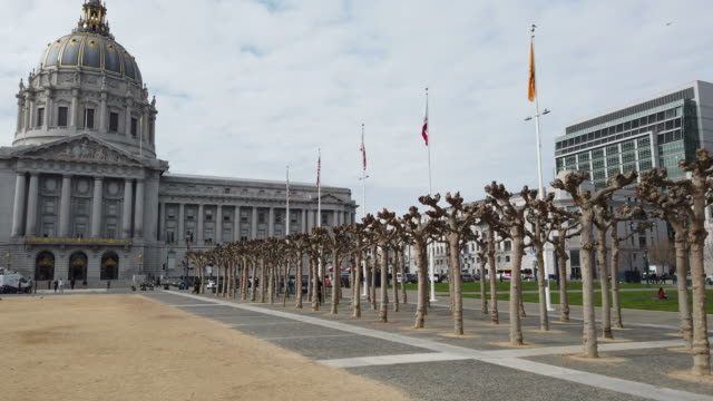 san francisco city hall - town hall government building stock videos & royalty-free footage