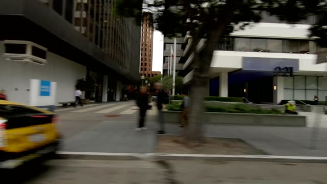 san francisco city vii synced series right view driving process plate - trolley bus stock videos & royalty-free footage