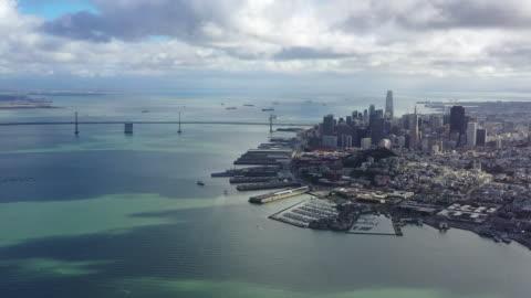 san francisco cityscape / california, usa - san francisco kalifornien bildbanksvideor och videomaterial från bakom kulisserna