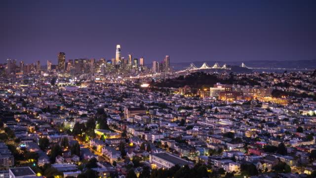 San Francisco Cityscape - Time Lapse