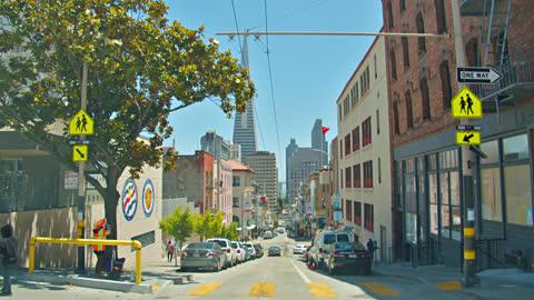 san francisco downtown. - san francisco bay stock videos & royalty-free footage