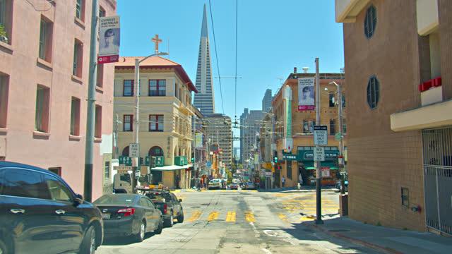 san francisco. downtown. - san francisco bay stock videos & royalty-free footage