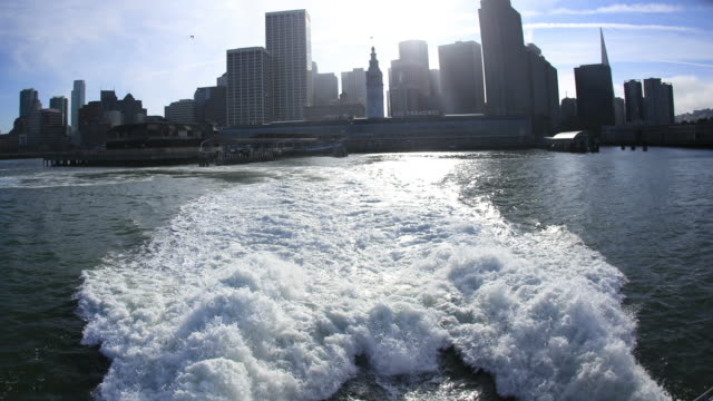 vidéos et rushes de ferry de san francisco - ferry