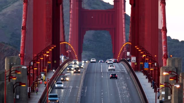san francisco golden gate bridge - international landmark stock videos & royalty-free footage