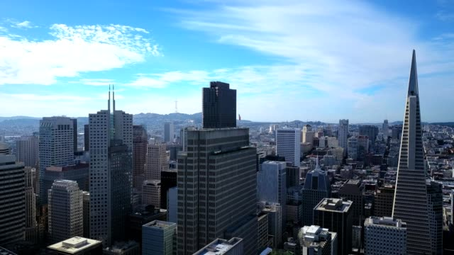san francisco skyline - san francisco california stock videos & royalty-free footage