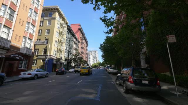 san francisco street - lombard street san francisco stock videos & royalty-free footage