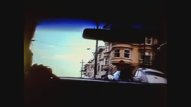 san francisco street view by inside a car in 70's - san francisco california stock videos & royalty-free footage