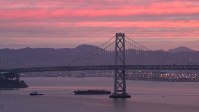 san francisco sunrise - san francisco bay stock videos and b-roll footage
