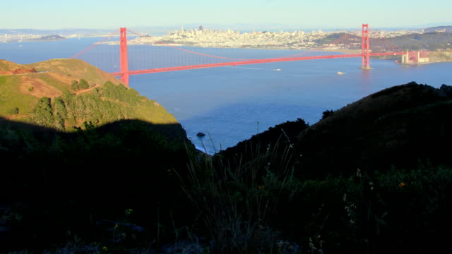 san francisco sunset time lapse - crossing the threshold stock videos & royalty-free footage