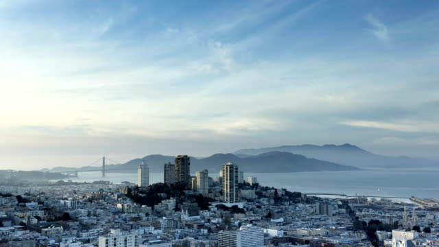 san francisco time lapse - san francisco bay stock videos and b-roll footage