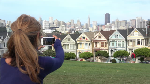 san francisco victorian achitecture - san francisco bay area stock videos and b-roll footage