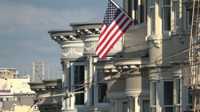 san francisco victorian architecture - 19th century stock videos & royalty-free footage