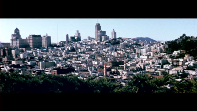 1955 san francisco - san francisco california stock-videos und b-roll-filmmaterial