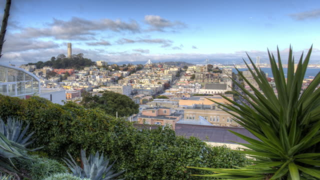 san francisco with 3-d text - north beach san francisco stock videos & royalty-free footage