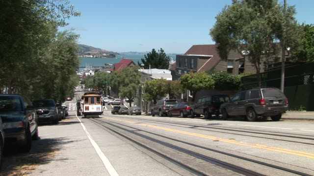 San FranciscoCable Car in San Francisco United States