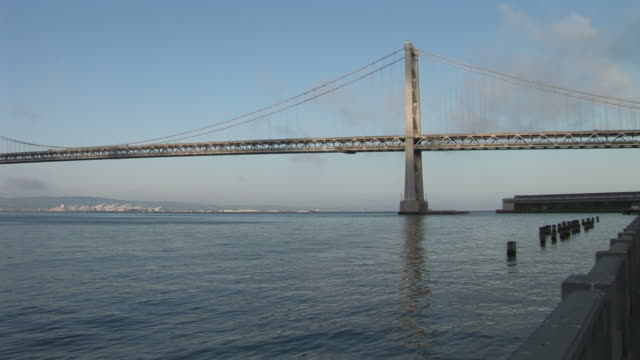 San FranciscoOakland Bay Bridge over San Francisco Bay in San Francisco United States
