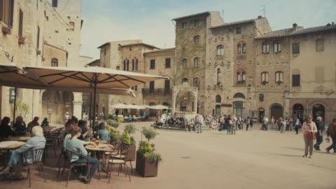 聖吉米納諾,托斯卡納義大利 - 義大利文化 個影片檔及 b 捲影像
