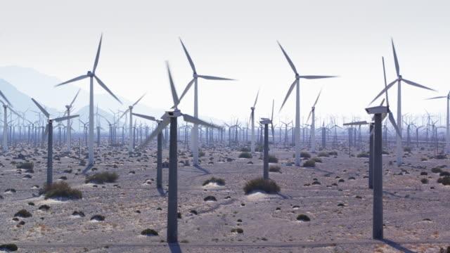 San Gorgonio Pass Wind Farm - Aerial Shot