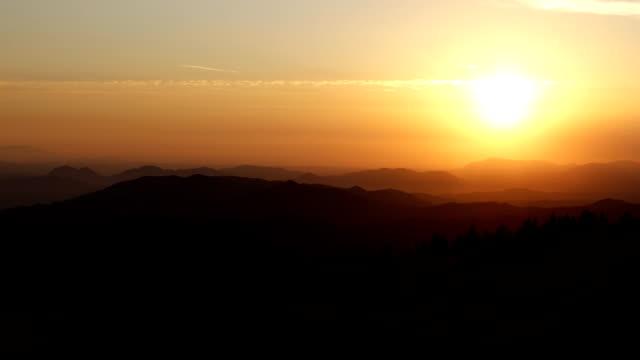 Montanha Sunset de San Jacinto
