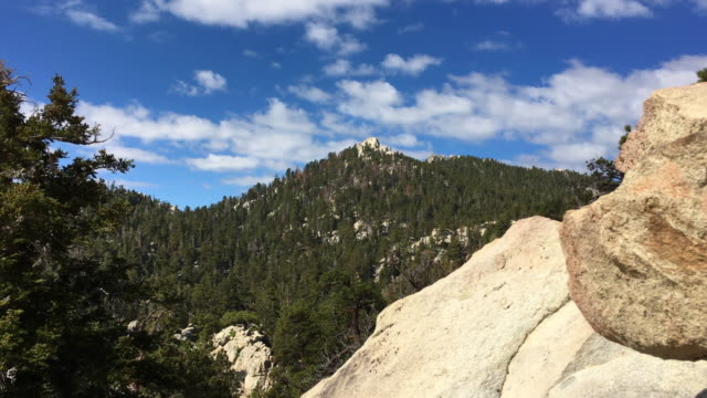 san jacinto peak above palm springs, ca usa - riverside california stock videos and b-roll footage