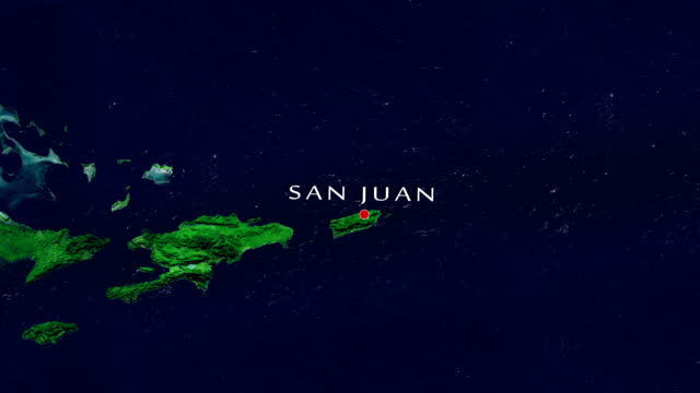 san juan 4k zoom in - puerto rico stock videos and b-roll footage