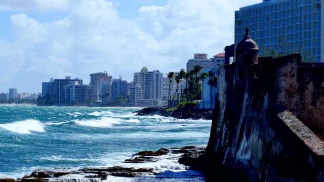 vídeos de stock, filmes e b-roll de san juan, puerto rico 4k 30p - porto riquenho