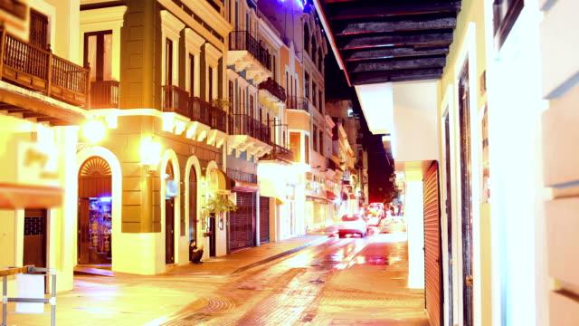 san juan, puerto rico 4k 30p - puerto rico stock videos & royalty-free footage