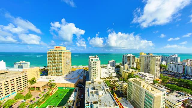 san juan, puerto rico - caribbean sea stock videos & royalty-free footage