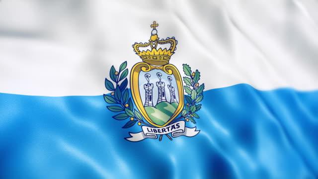 サンマリノの旗 - アデレード点の映像素材/bロール