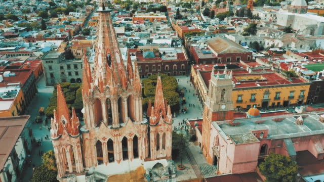 san miguel de allende, mexico. - famous place stock videos & royalty-free footage