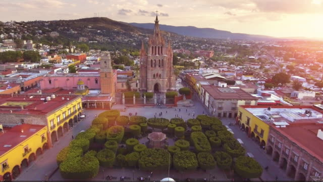san miguel de allende mexico - mexico stock videos & royalty-free footage