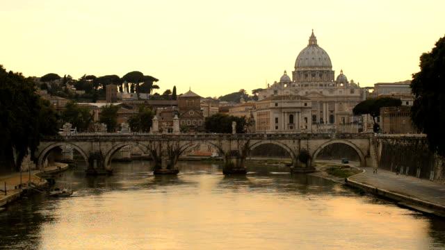 ・ピーター・ローマ - サンタンジェロ橋点の映像素材/bロール