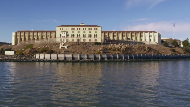 san quentin state prison - marin stock videos & royalty-free footage