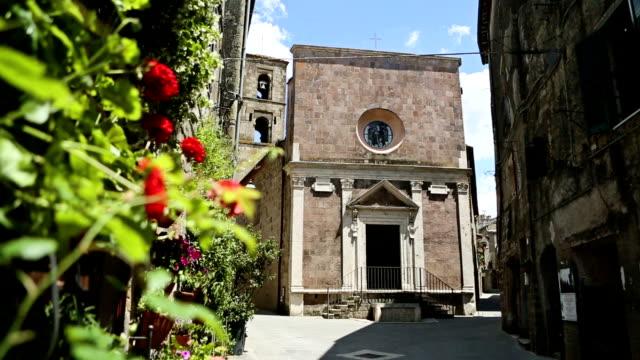 San Rocco church, Pitigliano in Tuscany, Italy