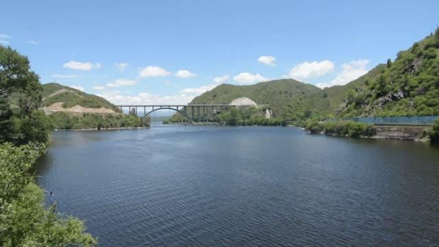 san roque dam water funnel in villa carlos paz - argentina stock videos & royalty-free footage