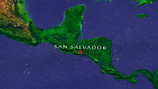 San Salvador 4K inzoomen