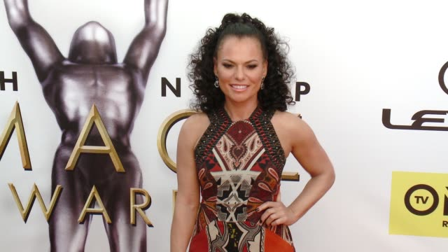 sanaa hamri at 47th annual naacp image awards at pasadena civic auditorium on february 05 2016 in pasadena california - pasadena civic auditorium stock videos and b-roll footage