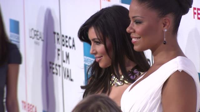 Sanaa Lathan and Sanaa Lathan at the 8th Annual Tribeca Film Festival 'Wonderful World' Premiere at New York NY