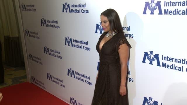 Sanaa Lathan at International Medical Corps Annual Awards Celebration in Los Angeles CA