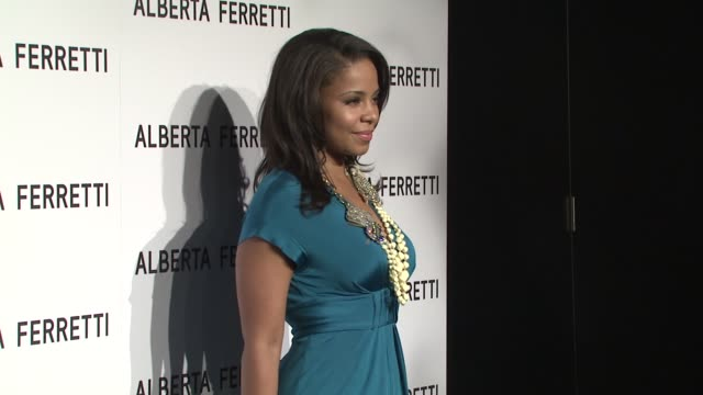 Sanaa Lathan at the Alberta Ferretti Celebrates First US Flagship Store Opening at Los Angeles CA