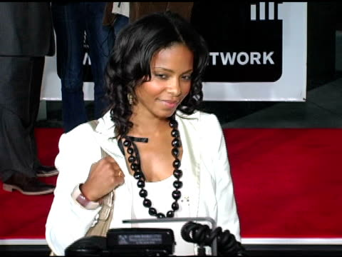 Sanaa Lathan at the 'King's Ransom' Los Angeles Premiere at the Cinerama Dome at ArcLight Cinemas in Hollywood California on April 21 2005