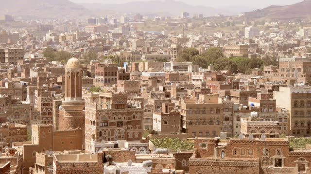 sanaa yemen - yemen stock videos & royalty-free footage